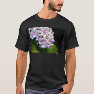 Purple and White Orchids T-Shirt