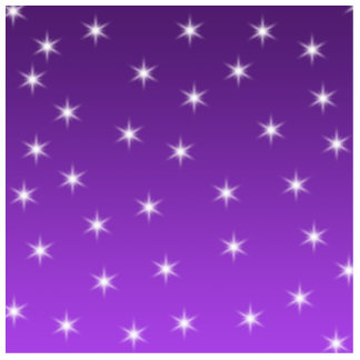 Purple and White Stars, Pattern. Cut Out