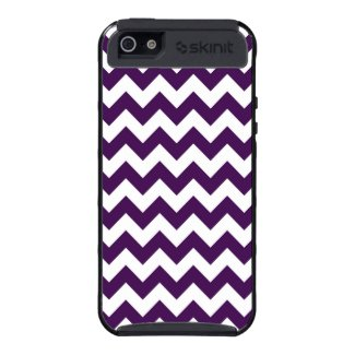 Purple and White Zigzag iPhone 5 Cover