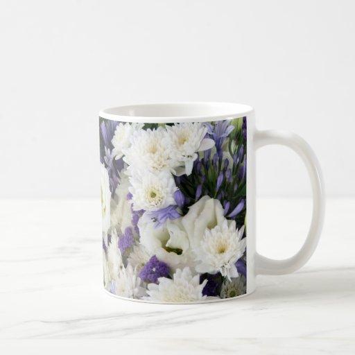 Purple and Whites Classic White Coffee Mug