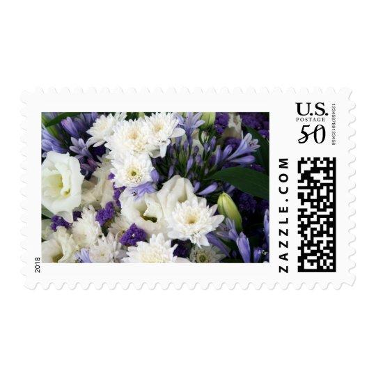 Purple and Whites Postage