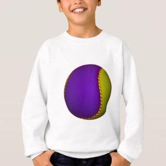 Purple and Yellow Baseball Sweatshirt