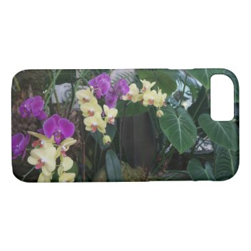 everydaylifesf Purple and Yellow Orchids iPhone 7 Case