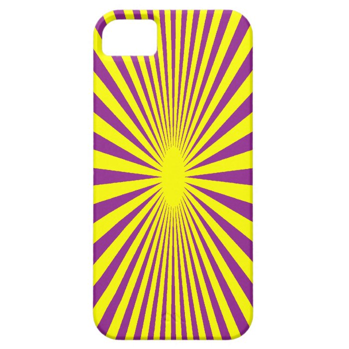 Purple and Yellow phone case. iPhone SE/5/5s Case