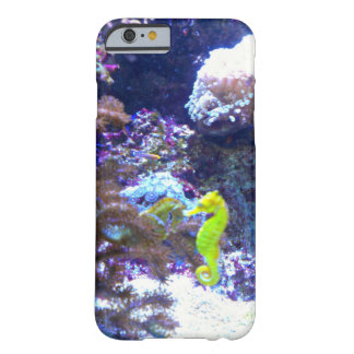 Purple and Yellow Seahorse iPhone 6 Case