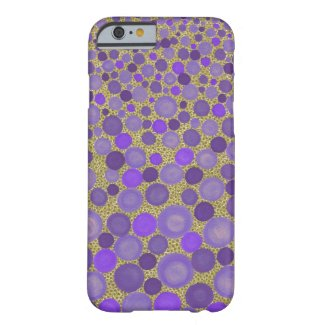 Purple and Yellow Spotted Iphone 6 Case