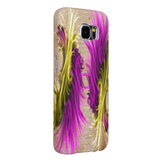 Purple and Yellow Style Samsung Galaxy case