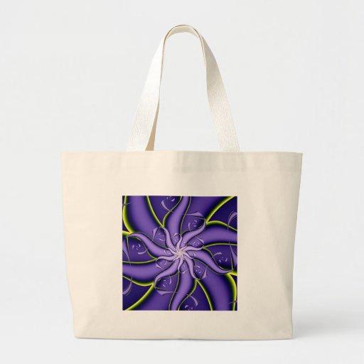 Purple and Yellow Swirl Bags
