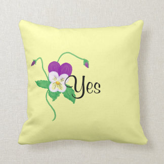 Throw Pillows Yes Or No : Yes Pillows - Decorative & Throw Pillows Zazzle