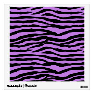 Purple Zebra Wall Decals Wall Stickers Zazzle - Zebra stripe wall decals