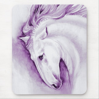 Purple Andalusian Mouse Pad