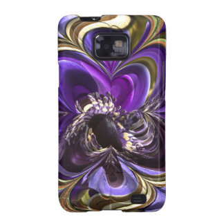 Purple Anemone Abstract Case-Mate Case Samsung Galaxy S2 Cover