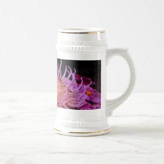 Purple Anemone Beer Stein