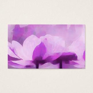 Purple Anemone Business Card