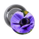 Purple Anemone Pin