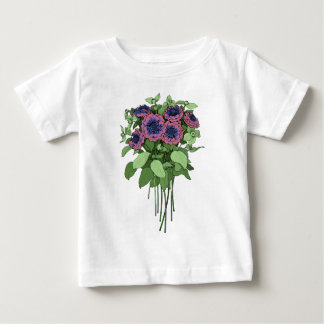 Purple Anenomes Baby T-Shirt