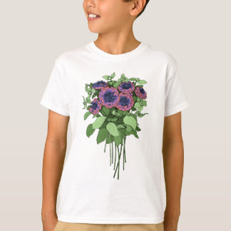 Purple Anenomes T-Shirt