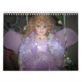 purple angel2 calendar