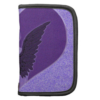 Purple Angel and Heart Organizer