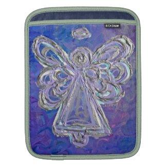 Purple Angel Art Painting iPad Computer Sleeves