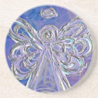 Purple Angel Coaster