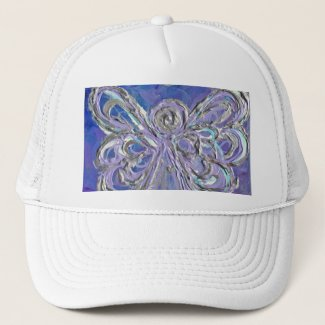 Purple Angel Hat or Cap