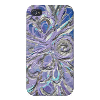 Purple Angel iPhone 4 Case