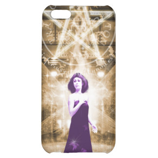 Purple Angel iPhone 5C Cases