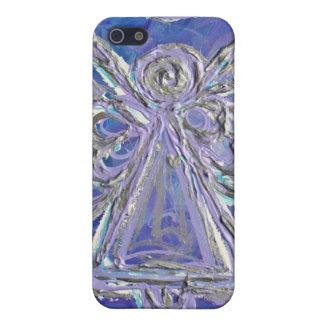 Purple Angel iPhone Case