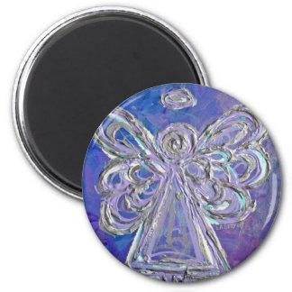 Purple Angel Magnet