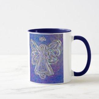 Purple Angel Mug