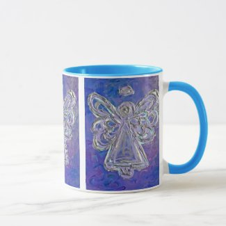 Purple Angel Mug or Cup