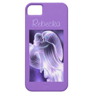 Purple Angel Phone Case iPhone 5 Cover