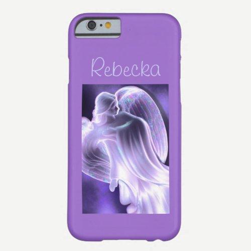 Purple Angel Phone Case