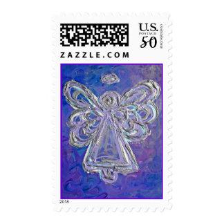 Purple Angel Stamp