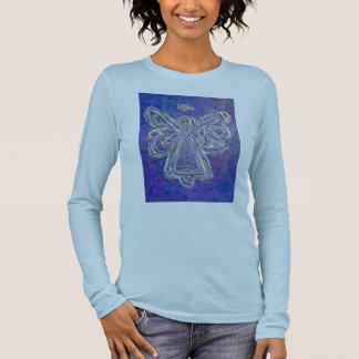 Purple Angel T-shirt (Image on Both Sides)
