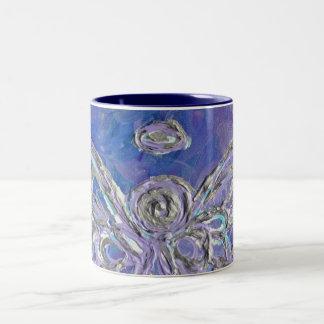 Purple Angel Wings Mug or Cup