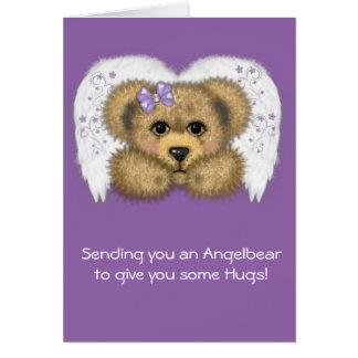 Purple Angelbear card
