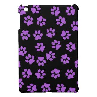 Purple Animal Footprints Case For The iPad Mini