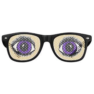 PURPLE ANIME (smaller eye version) EYE glasses