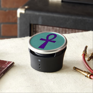 Purple Ankh Bluetooth Speaker