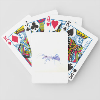 Purple Ant Bicycle Playing Cards