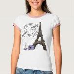 Purple April In Paris T-Shirt