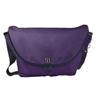 Purple Aquarium Courier Bag
