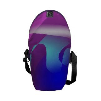 Purple Aquarium Messenger Bag