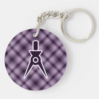 Purple Architect Key Chains