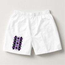 Purple Argyle Boxers
