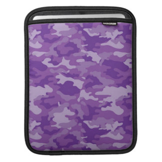 Purple Army Military Camo Camouflage Pattern Sleeve For iPads
