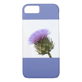Purple artichoke flower iPhone 8/7 case