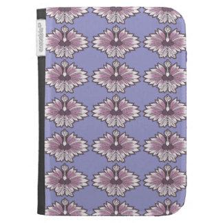 Purple Asian Flower Kindle Keyboard Case